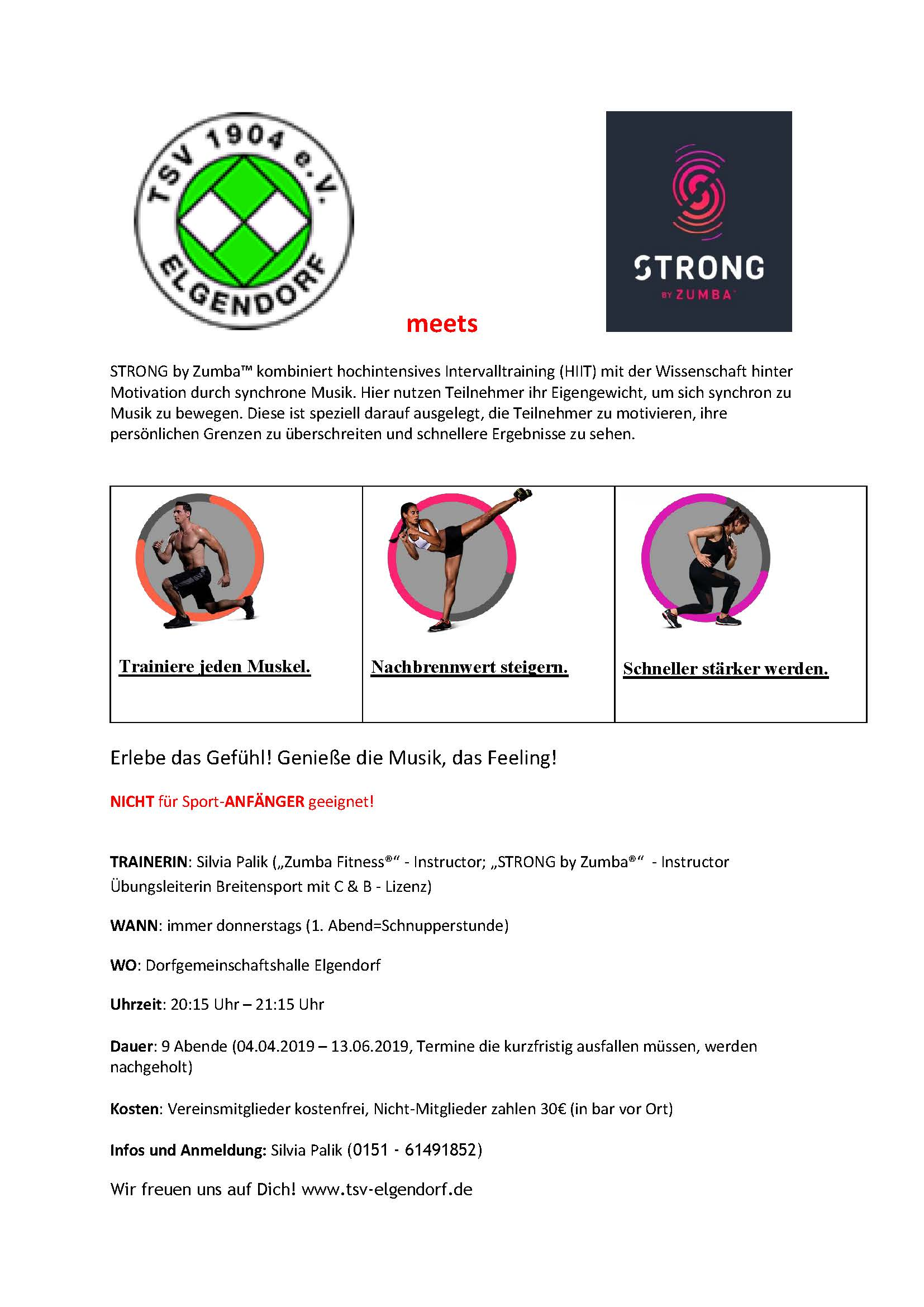 STRONG by Zumba 2019